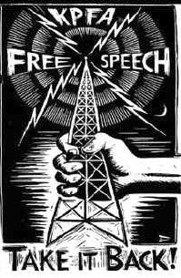 kpfa-free-speech-take-it-back-logo-121199, KPFA staffers release no-confidence statement, Local News & Views