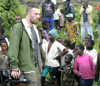 "A Congolese insider said of Ben Affleck: ""He was not really interested by the position of Congolese people and his heart was in Rwanda during all the time he was here … He didn't want people to know he came from Rwanda."""
