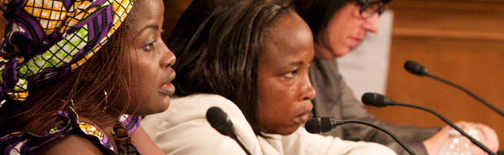 chouchou-namegabe-testifies-on-rape-in-congo-before-senate-cmte-chaired-by-boxer-051309-by-vital-voices, 'Help us heal our nation': Confronting rape and other forms of violence against women in conflict zones, World News & Views