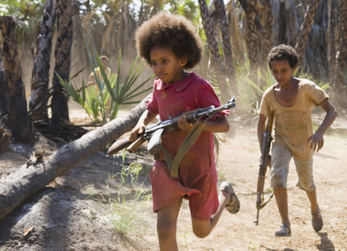 """Awet (Victory), forced to be a soldier, vows never to kill in the feature film from Eritrea, """"Heart of Fire."""""""