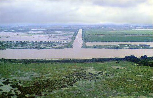 The man-made channel called MRGO has destroyed thousands of acres of the wetlands that protected New Orleans from storms, played a major role in drowning the city during Katrina and was used by fewer than two ships a day.