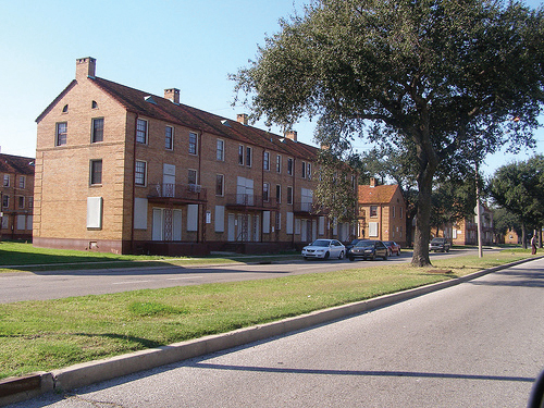 "Residents fought long and hard to return to their homes and beloved community in Lafitte after Katrina, but ""low-income housing advocates"" sold them out. - Photo taken Dec. 5, 2007, by Karen Gadbois"
