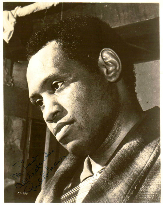 Paul Robeson, an all-time giant in the arts and human rights, surmounted lifelong persecution that could not silence his advocacy for his people.
