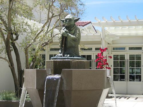 presidio-of-sf-lucasfilm-yoda-fountain, A spiritual African American man vs. Darth Vader, Local News & Views