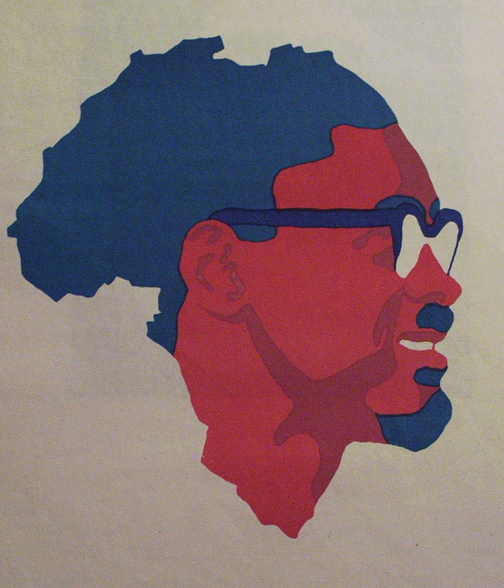 Patrice Lumumba art work