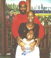 Jalil Muntaqim with his daughter Antoinette, and granddaughter Shacari in 2000.