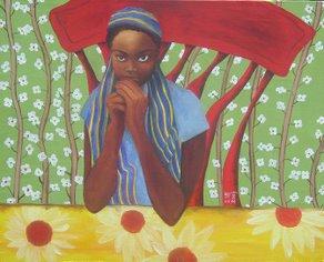 'All Little Black Girls Are Alike II' by Nia Imara