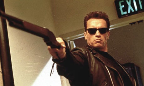 Arnold Schwarzenegger switched from movie star to governor, but he's still the Terminator, terminating real lives – of the poor, sick and oppressed with his massive arbitrary budget cuts. Is that reason enough for the people to unite and fight?