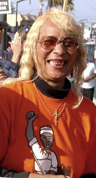 Born and raised in Bayview Hunters Point, Betty Higgins walks Candlestick State Park every day with friends.