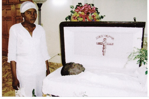 The young man murdered by U.N. MINUSTAH troops firing into the crowd at the June 18 funeral of Fr. Jean-Juste was finally laid to rest July 14, his funeral secret for fear of reprisals.