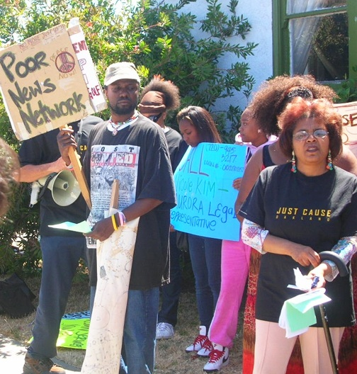 Karen-Mims-fights-foreclosure-0809-by-PNN, I'm staying, Local News & Views