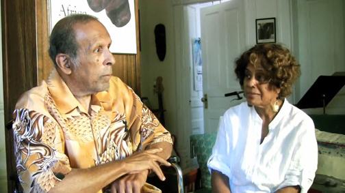 Ortiz and Carol Walton - Photo: Paul Billingsley