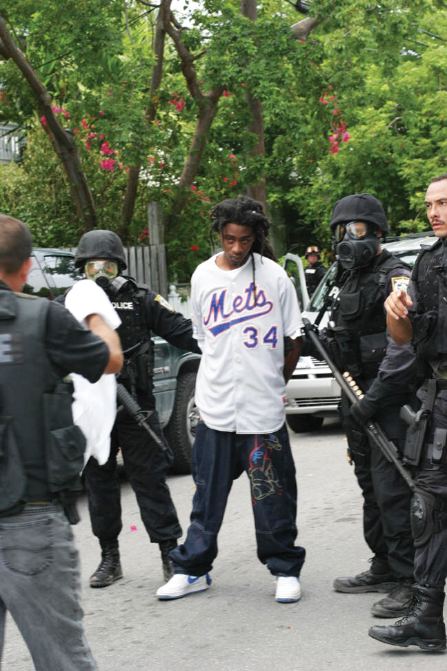 SWAT-team-arrest-web, Update on 'Bay View First Amendment Campaign', Behind Enemy Lines