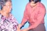 Shirley-Jones-Dr.-Ramesh-Kanaan-acupuncture-needle, SF LIVE!!-District 10 Ambassador Shirley Jones, Local News & Views