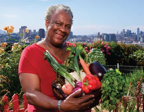 Shirley-Jones-Potrero-Community-Garden-Potrero-Hill-SF, SF LIVE!!-District 10 Ambassador Shirley Jones, Local News & Views
