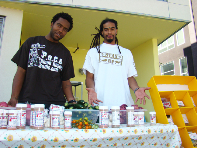 Soul Foods Co-op co-owners Yasser and Vahid