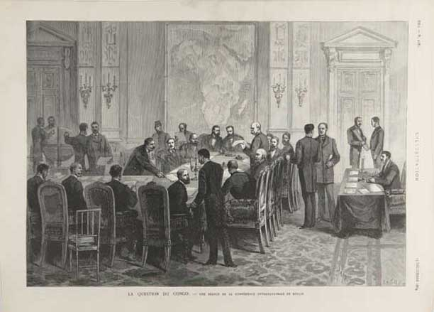 Congo Conference under Bismarck's leadership