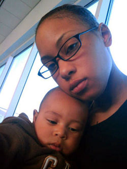 Alexis-Hutchinson-son-Kamani, Army sends infant to foster care, mom to Afghanistan, National News & Views