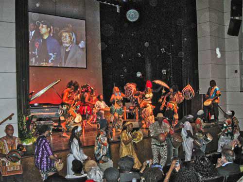 Amiri-Baraka-75th-birthday-Langston-Hughes-Aud.-Schomberg-Center-Harlem-101009-by-Monica-Moorehead, Wanda's Picks for November, Culture Currents