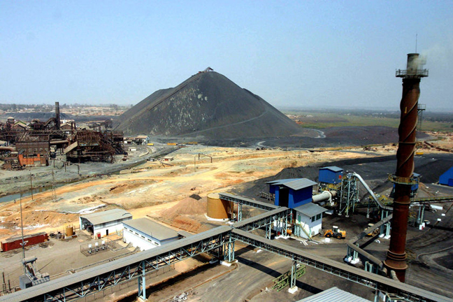 When this Gecamines open pit copper mine in Katanga, one of the worlds largest, and others like it shut down during Congos civil war, Congolese continued mining for their own benefit. The miners rebelled when the company tried to expel them. State-owned Gecamines was until recently headed by Canadian Paul Fortin.  Photo: David Lewis, Reuters