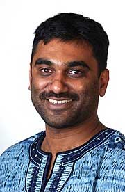 Kumi Naidoo of South Africa became international executive director of Greenpeace just last month, on Nov. 16.