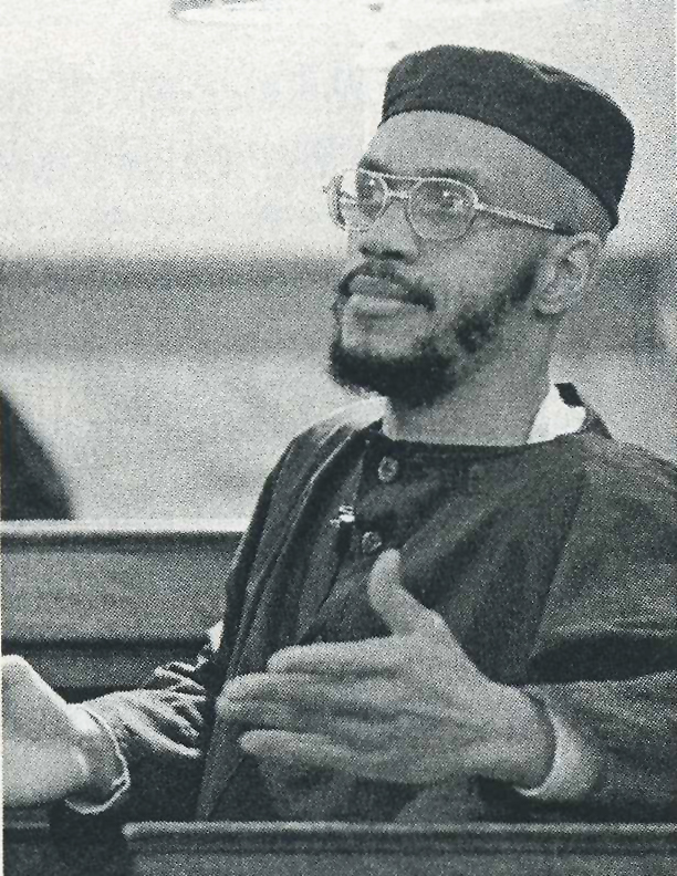 Siddique Abdullah Hasan, on death row as one of the Lucasville 5, was the imam at Lucasville and represented Muslim prisoners during negotiations to end the rebellion. Though considered a peacemaker, he was targeted for punishment because of his leadership. – Photo: Al Behrman, AP