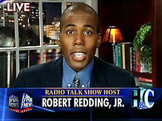 Redding has been a regular guest on Fox News and NPR.