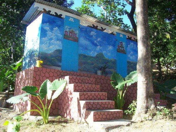 Haiti-SOIL-and-SOL-toilet-near-historic-palace-San-Souci-in-Milot, Kouraj cherie: Dispatches from Port au Prince, Haiti, World News & Views