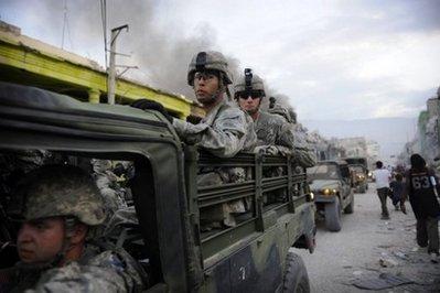 Haiti-earthquake-U.S.-military-invades-PAP-011910-by-AFP2, From Cynthia McKinney: An unwelcome Katrina redux, World News & Views