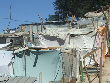 Haiti-earthquake-sheet-city-PAP-020810-by-Flavia-Cherry, Haiti from the front lines: Genocide by omission, World News & Views