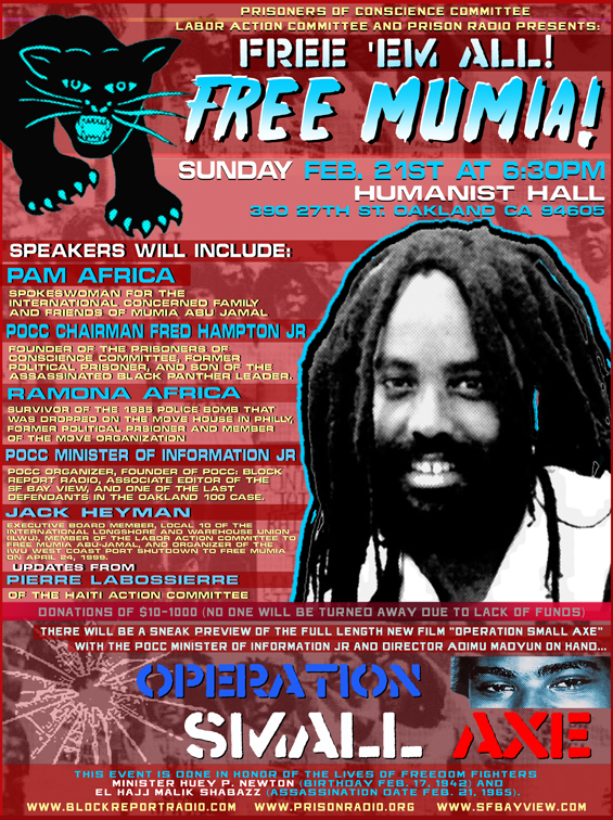 Mumia-0210-web, I call it murder, National News & Views