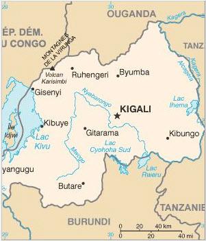 Rwanda-map1, Rwandan opposition parties condemn grenade attacks in Kigali, World News & Views