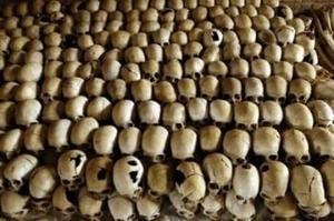 Rwanda-skulls-displayed-at-Genocide-Memorial-Site-Church-of-Ntarama-Nyamata-Rwanda-in-2004-by-AFP, Rwandan opposition parties condemn grenade attacks in Kigali, World News & Views