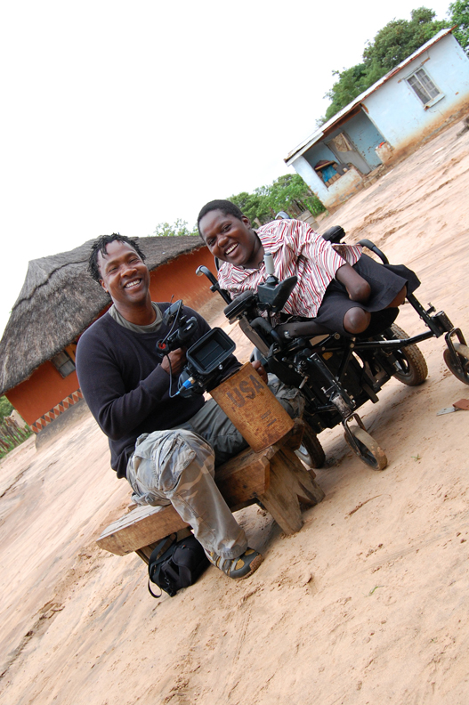 Music-by-Prudence-director-Roger-Ross-Williams-Prudence-Mabhena-by-Osato-Dixon, Oscar nomination for 'Music by Prudence' about disabled Zimbabwean singer Prudence Mabhena, Culture Currents
