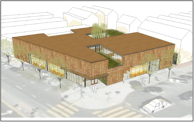 Bayview-Library-architects-rendering-full-view-web, Blacks demand parity as construction season begins, Local News & Views