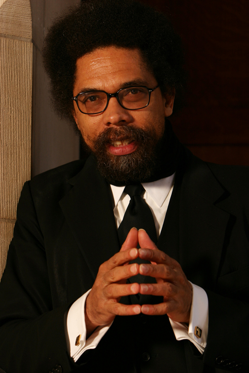 Cornel-West-by-Jon-Chase-Harvard-University-News-Office-web, Mumia on the death penalty – and in conversation with Cornel West, Behind Enemy Lines