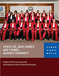 Genocide-War-Crimes-and-Crimes-Against-Humanity'-HRW-0110-cover, Criminal defense lawyers dispute Rwanda's genocide history, World News & Views