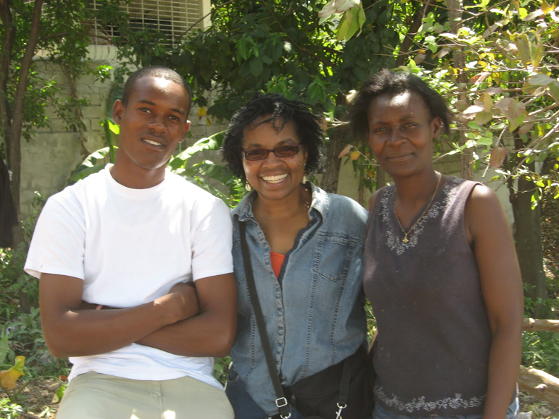 Haiti-earthquake-Wanda-at-Sopudep-School-0410-by-Wanda, Haiti Awareness Day and Celebration Tuesday, May 18, Culture Currents