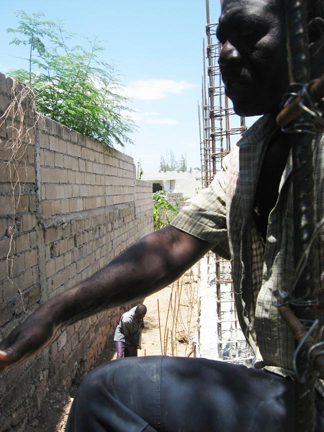 Haiti-earthquake-building-new-SOPUDEP-School-0410-by-Wanda, Haiti: Hanging with Rea Dol at the site of the future Sopudep School, World News & Views