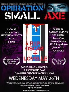 Operation-Small-Axe-Santa-Cruz-screenings-0526101, 'Operation Small Axe' screenings: Bronx & Santa Cruz 5/26, Sacramento 5/28, Local News & Views
