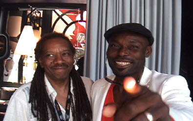 Jac-Taliaferro-Jimmy-Jean-Louis-at-Cannes-2010, The Cannes International Film Festival is the place for filmmakers to step up their game, Culture Currents