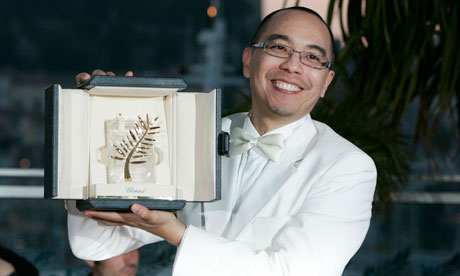 Thai-filmmaker-Apichatpong-Weerasethakul-receives-Palm-dOr-Cannes-highest-prize-2010, The Cannes International Film Festival is the place for filmmakers to step up their game, Culture Currents