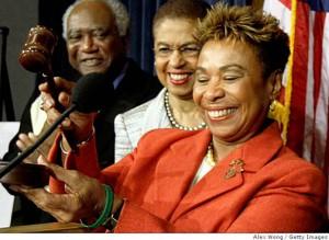 barbara-lee-black-caucus-chair-111908-by-alex-wong-getty-images-300x219, New Black Caucus chair signals more progressive agenda, Local News & Views