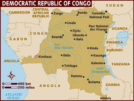 congo-map, The holocaust in DR Congo: War for the sake of war itself, World News & Views