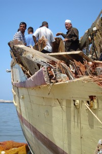 gaza-fishing-boat-rammed-by-israeli-gunboat-200x300, Dispatches from Donna in Gaza, World News & Views