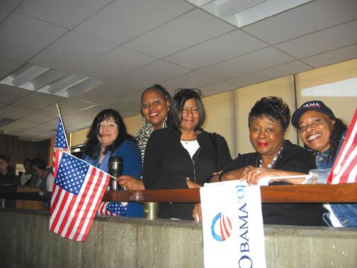 Inauguration Day at the College of Alameda – Photo: Wanda Sabir