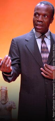 "L. Peter Callender stars in the Marin Theatre production of ""My Children! My Africa!"" - Photo: David Allen"