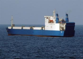 The MV Faina off Somalia's Indian Ocean coast – Photo: AFP
