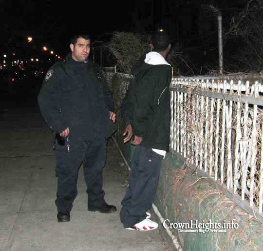 One of the over half million yearly NYPD stop-and-frisks: More than 80 percent are of Blacks and Latinos. – Photo: CrownHeights.info