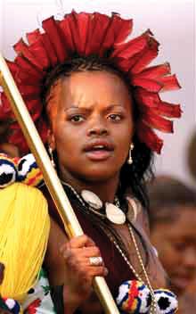 Princess Pashu, the rapping princess of Swaziland